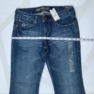 Express Jeans - Express Stella Low Rise Fit Flare Jeans 0S Short